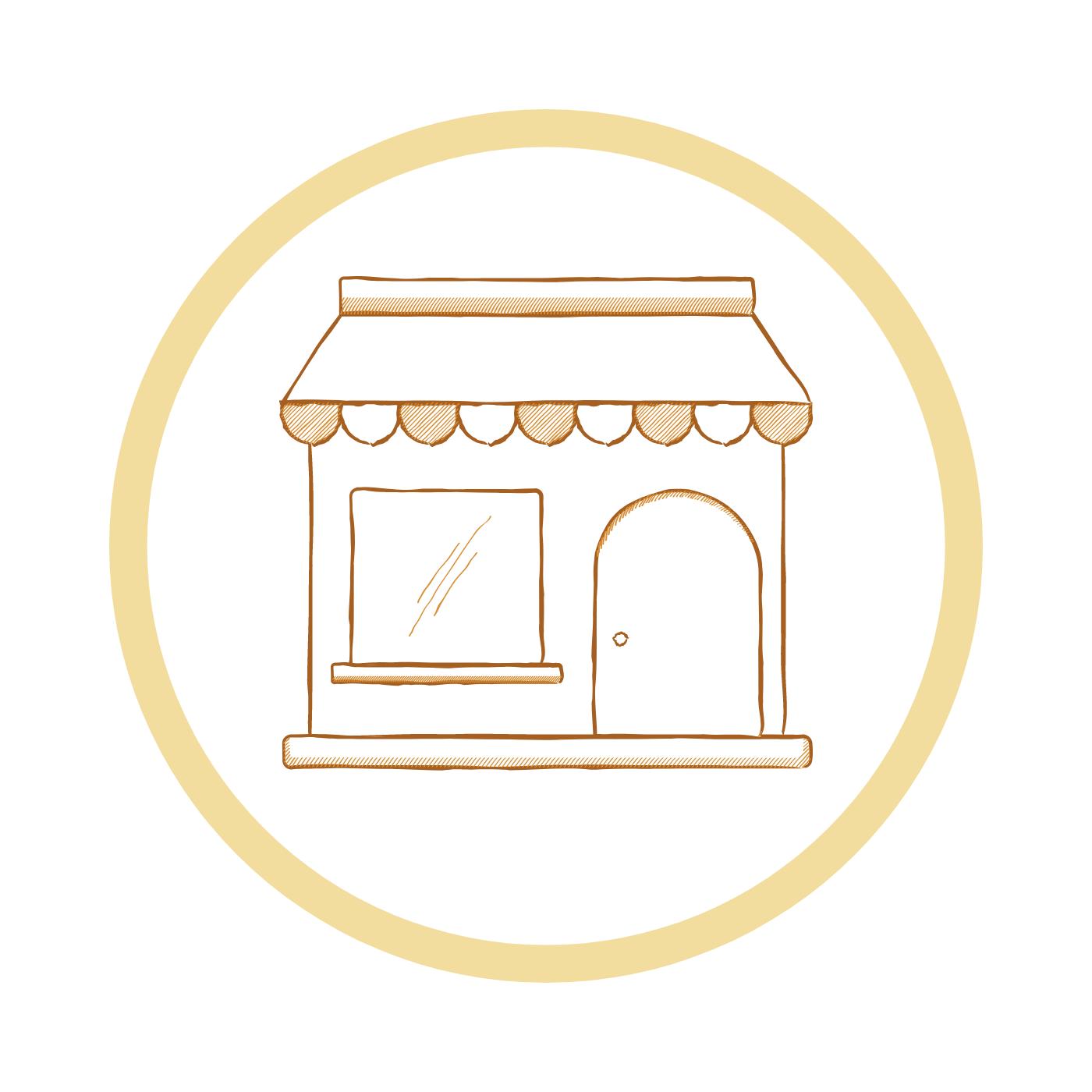 Le magasin de la cagette Lien vers: https://lacagette-coop.fr/?PageMagasin